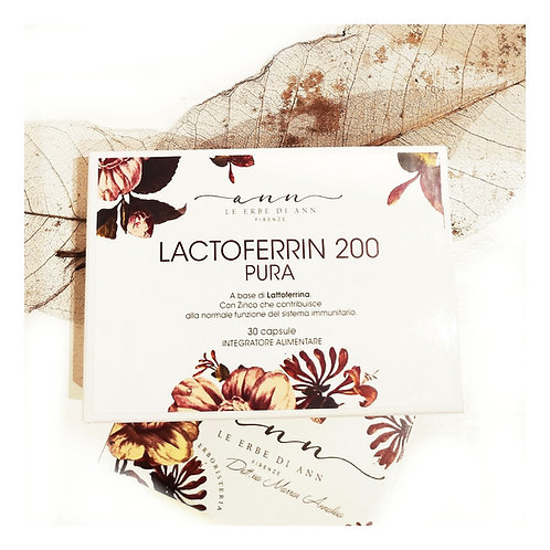 LATTOFERRINA 200MG + ZINCO