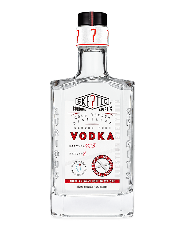 Skeptic Vodka White Label Quest Mark Nec