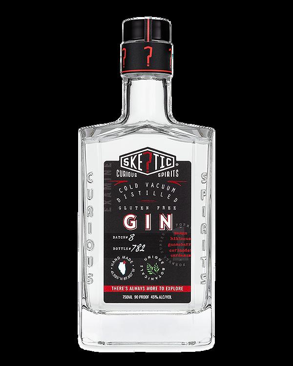 Skeptic Gin Black Label Quest Mark Neck