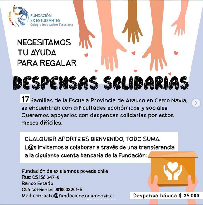 Campaña Despensas Solidarias