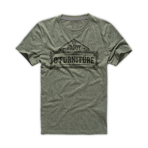 t-shirts (ash, charcoal, Irish green, forest green)