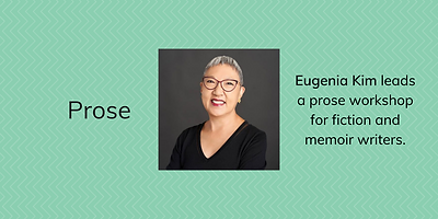 Eugenia Kim writers conference banner.pn