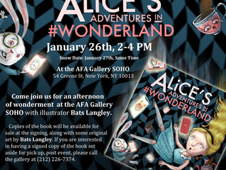 Alice book signing in SoHo
