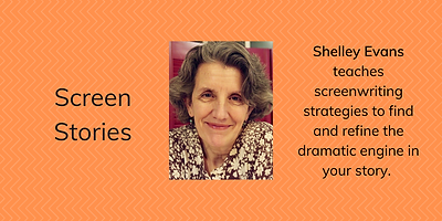 Shelley Evan writers conference banner.p