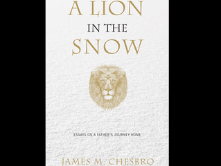 A Lion in the Snow