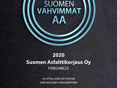 Suomen Asfalttikorjaus Oy on yksi Suomen Vahvimmista.