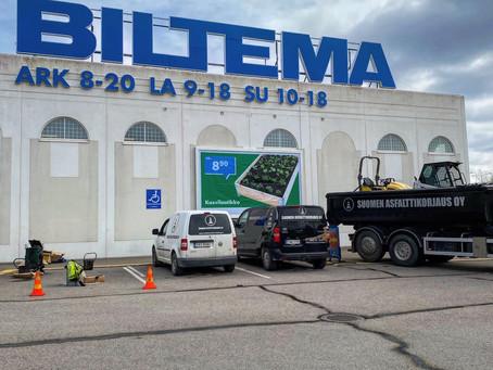 Kausi 2020 on avattu poikkeusoloissa Tampereen Biltemalla.
