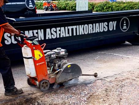 Milloin ja miten asfaltti tulisi huoltaa?