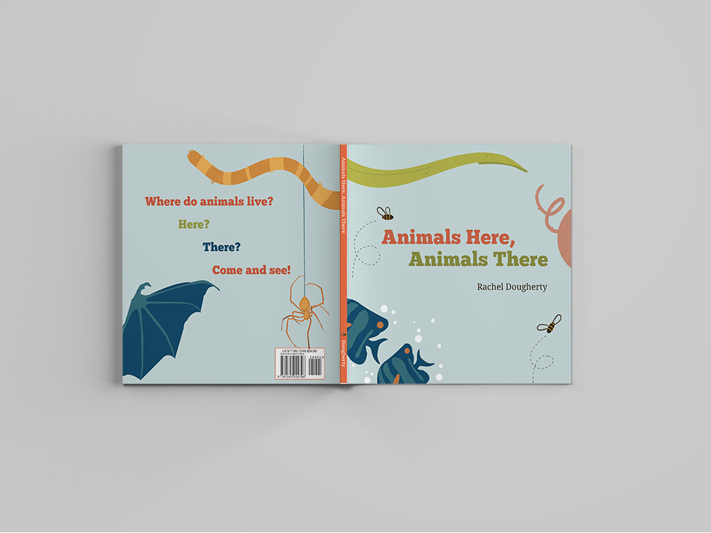 Cover Design for Early Reader Picture Book