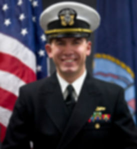Operations Officer LCDR Van Hook Covered