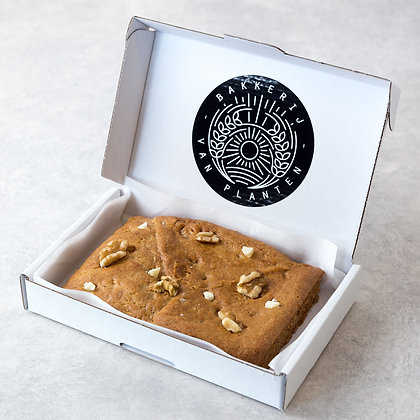 Walnoot & witte chocolade cookie