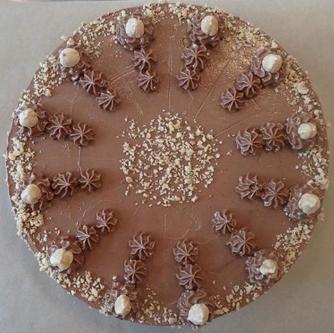 Hazelnoot taart
