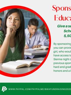 Sponsor an Education
