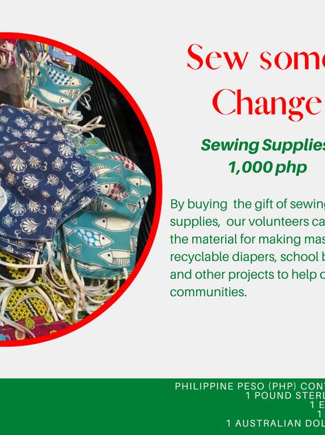 Sew some Change