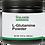 L-Glutamine Powder brown plastic jar image
