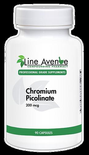 Chromium Picolinate white plastic bottle image