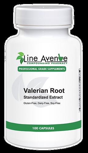 Valerian Root  Supplement - white plastic bottle image