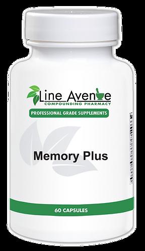 Memory Plus white plastic bottle image