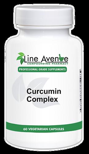 Curcumin Complex white plastic bottle image