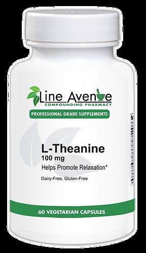 L-Theanine white plastic bottle image
