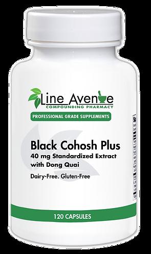 Black Cohosh Plus white plastic bottle image