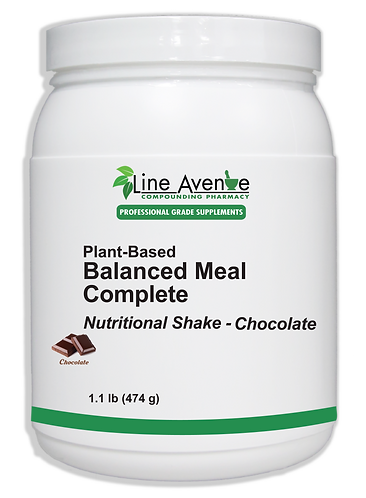 Balanced Meal Complete – Chocolate large white plastic container image