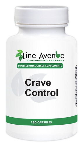 Crave Control Supplement - white plastic bottle image