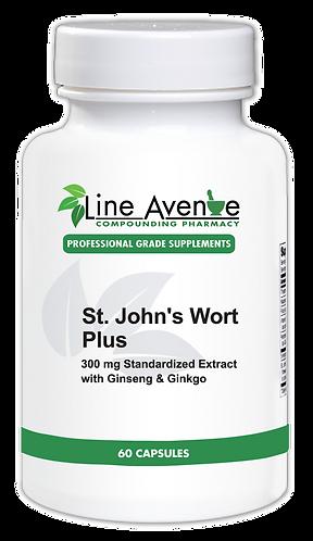 St. John's Wort Plus white plastic bottle image