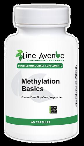 Methylation Basics white plastic bottle image