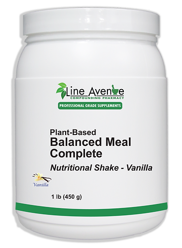 Balanced Meal Complete – Vanilla large white plastic container image