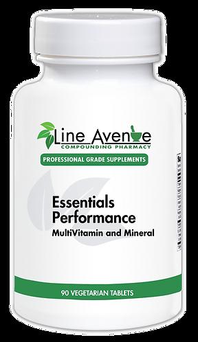 Essentials Performance white plastic bottle image