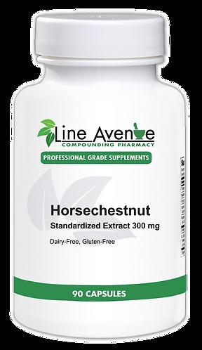 Horsechestnut Standardized Extract - 300 mg white plastic bottle image