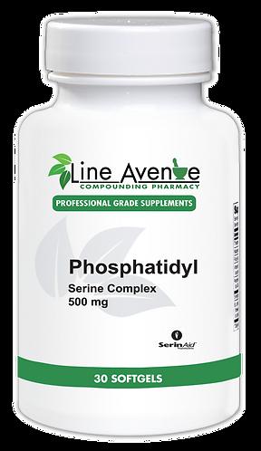 Phosphatidyl Serine Complex white plastic bottle image