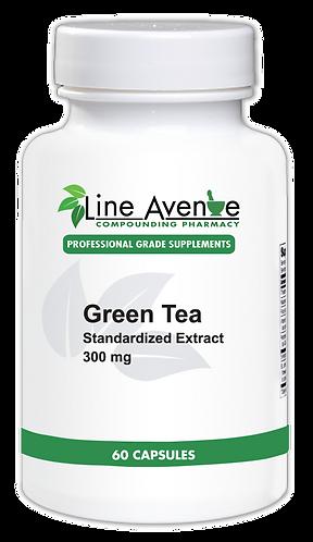 Green Tea Standardized Extract white plastic bottle image