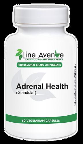 Adrenal Health, Glandular white plastic bottle image