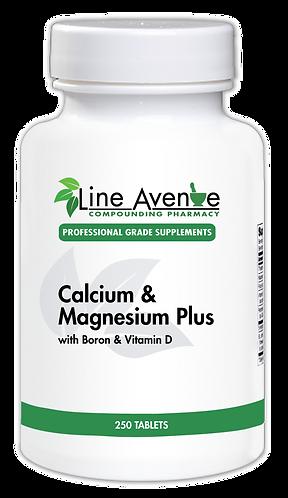 Calcium & Magnesium Plus white plastic bottle image