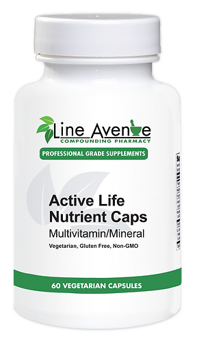 Active Life Nutrient Capsules white plastic bottle image