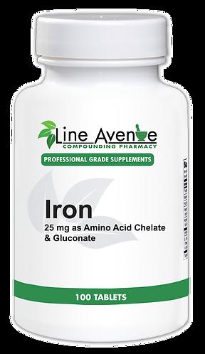 Iron- white plastic bottle image