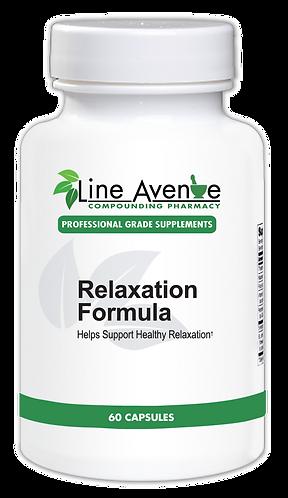 Relaxation Formula Supplements - white plastic bottle image