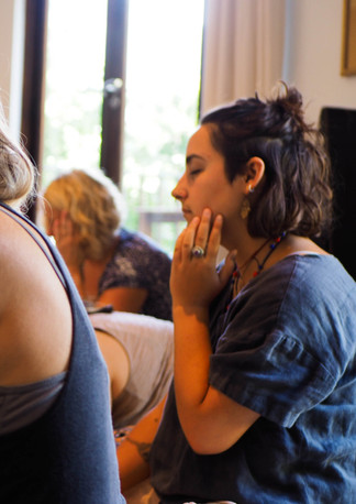 Connect through touch with self through art workshop, Bodhi Breathwork and Yoga, Hout Bay, Cape Town, South Africa