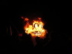 Last night: burn that swan!