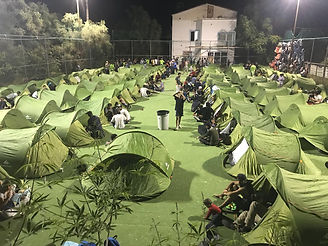 Refugee camp in Humans 4 Humanity, May 2018, Lesvos, Greece