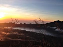Sunrise from Batur vulcano, Indo