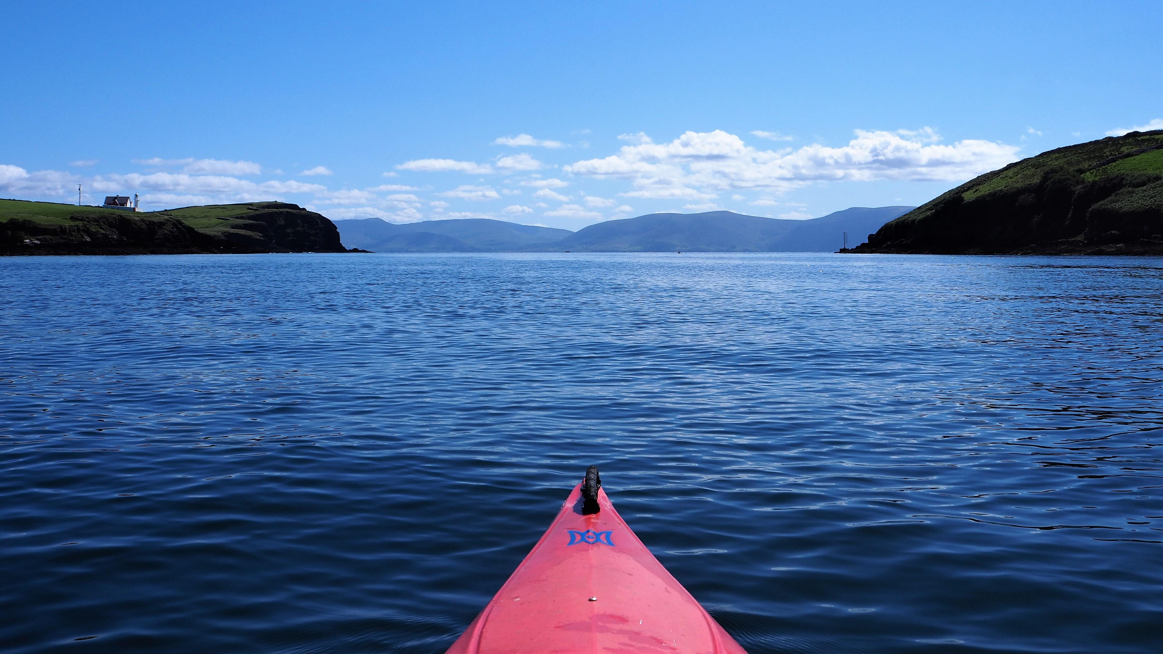 Kayak in Doolin
