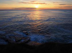 Sunset near Sligo