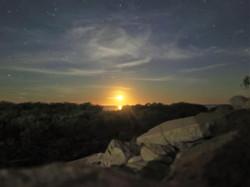 Actually a moonrise! Broome, Aus