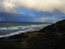 Ericeira, double rainbow