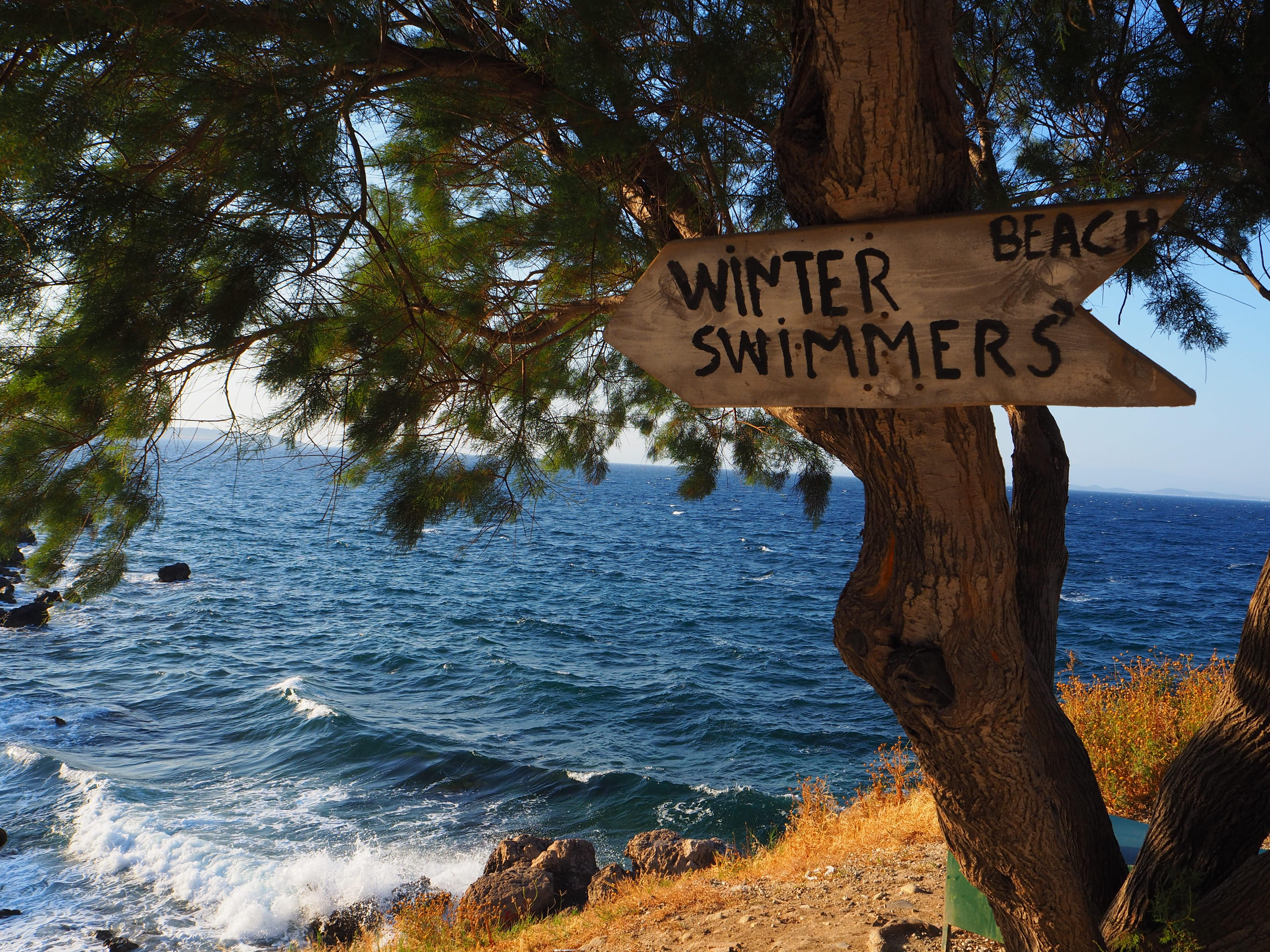 Bay in Lesvos, Greece