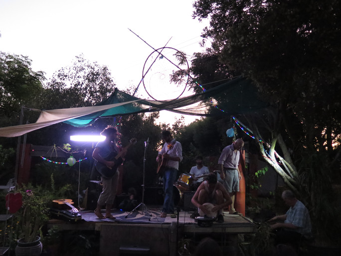 Jamming at the amazing FERN
