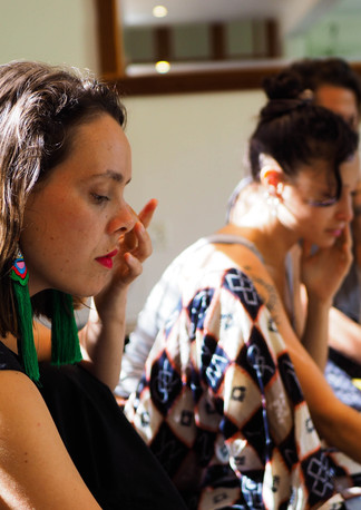 Connect through touch through art workshop, Bodhi Breathwork and Yoga, Hout Bay, Cape Town, South Africa